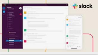 Slack outil de communication et de gestion de projet partagé