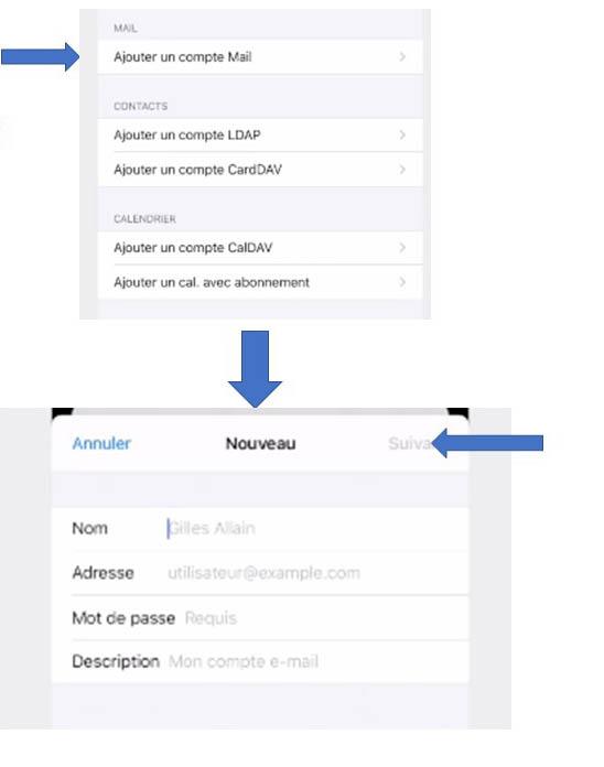 Ajouter un compte Mail sur Mac, iPhone ou iPad (Apple)