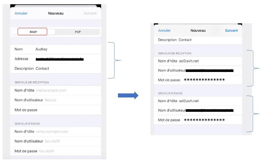 Les étapes pur paramétrer son mail OVH sur Mac, iPhone ou iPad (Apple)